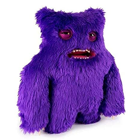 Fuggler - Large Funny Ugly Monster Plush - Violeta: Amazon.es: Juguetes y juegos