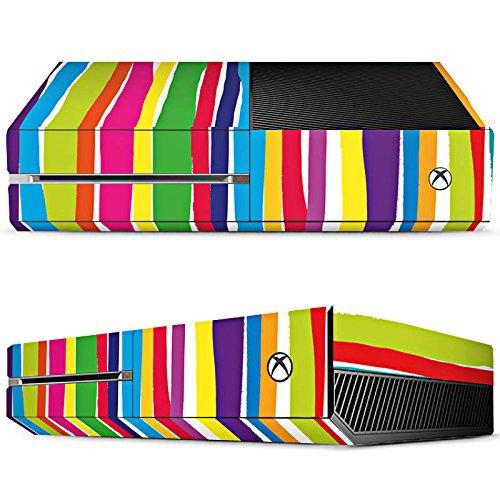 Price comparison product image Microsoft Xbox One Skin vinyl skin stickers protective film - Watercolour Stripes