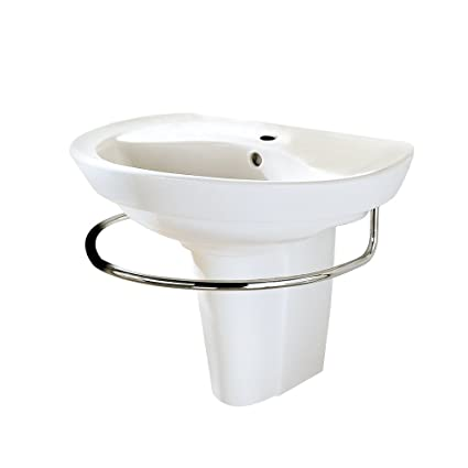 American Standard 0268 144 020 Ravenna Wall Mount Pedestal Sink With
