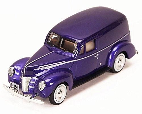 1940 Ford Sedan Delivery, Purple -  P - 1/24 Scale Diecast Model Car - MotorMax 73250