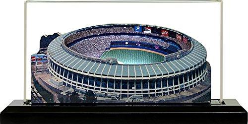 Stadium Fulton Atlanta (Atlanta Braves Atlanta-Fulton Stadium (1967-1996), Small Lighted in Display Case)