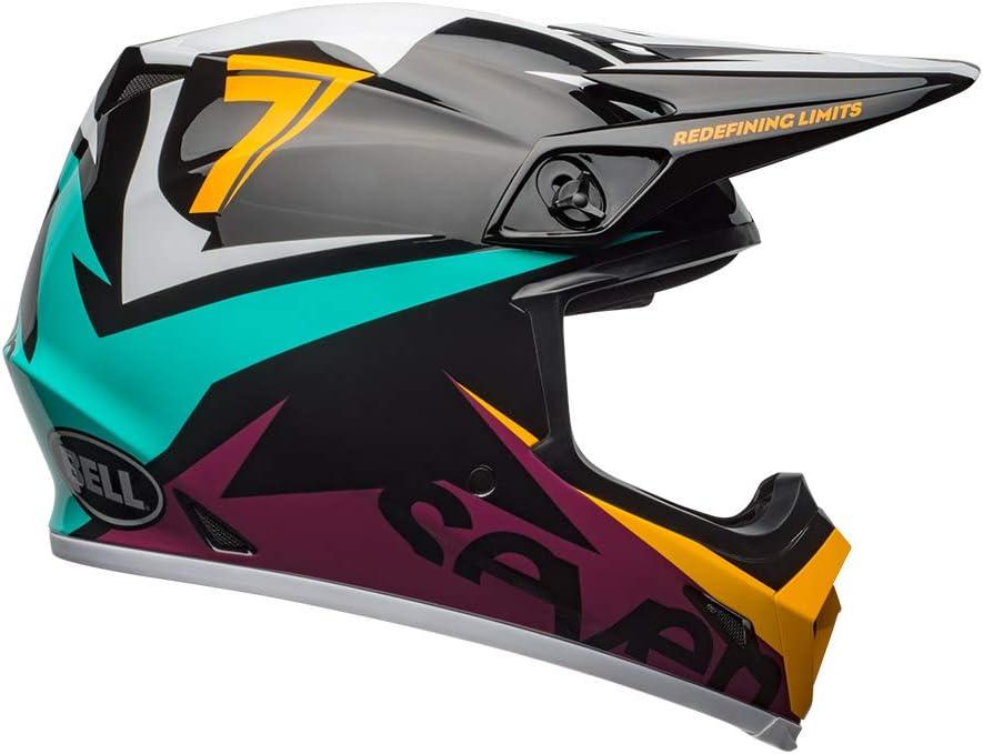 Bell Helmets Moto 9 Mips District Blue//Orange Size XS