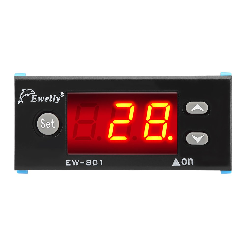 Solar Water Heater Temperature Controller Thermostat With Sensor Hot Panel Differential Pump Digital Display Industrial Scientific