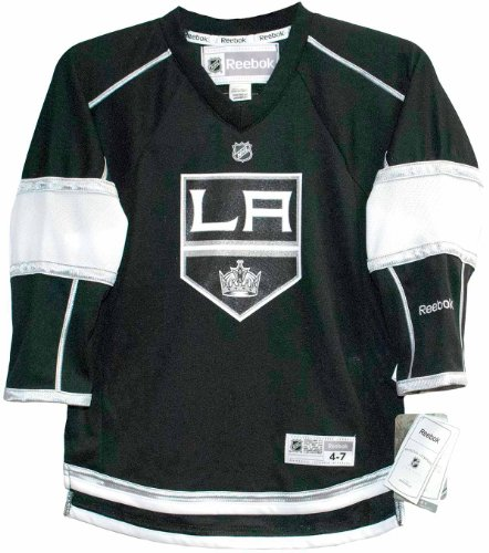 Reebok Los Angeles Kings Kids (4/7) Replica Home Jersey