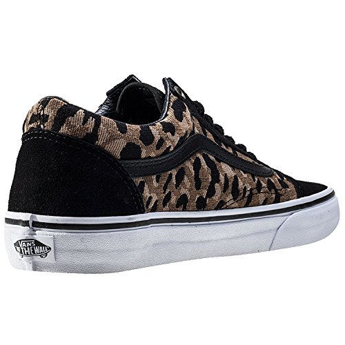Skool High Skateboarding Shoe Black Weave Canvas Ankle Vans Old Italian Ambergold RqC7w6F6