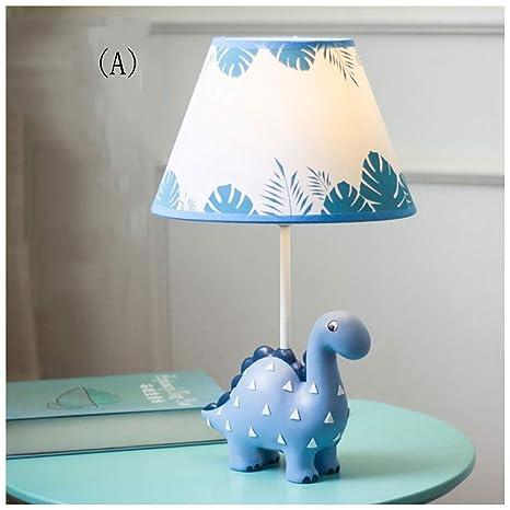 Dormitorio de los niños dinosaurio lámpara de mesa - niño niña de ...