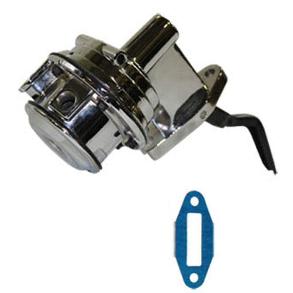 Pirate Mfg Chrome Mechanical Fuel Pump Small Block V8 351C 400M 1//4 NPT