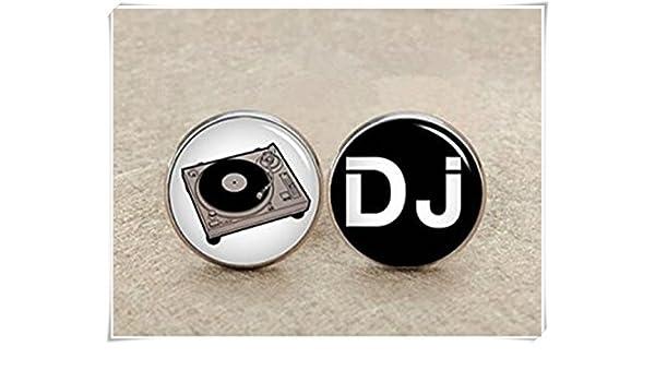 DJ Music Cufflinks,Father Of The Bride,Music lover dj lover
