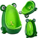 Cute Frog Potty Training Urinal For Boys Kids With Funny Aiming Target 2 color - Green