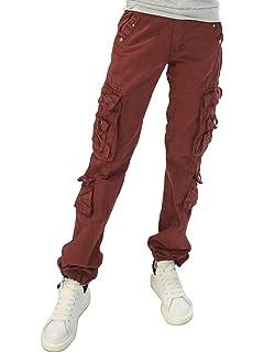 d8f1d85efd57 Johnny Was Women s Poplin Cargo Pant with Belt at Amazon Women s ...
