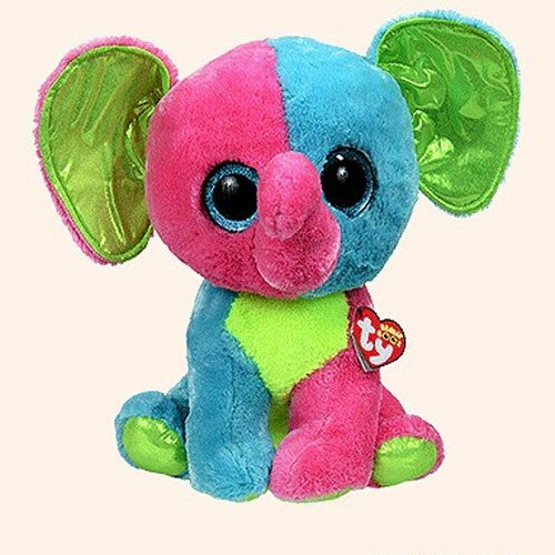 Ty Beanie Boos Elfie - Elephant Large (Justice Exclusive)