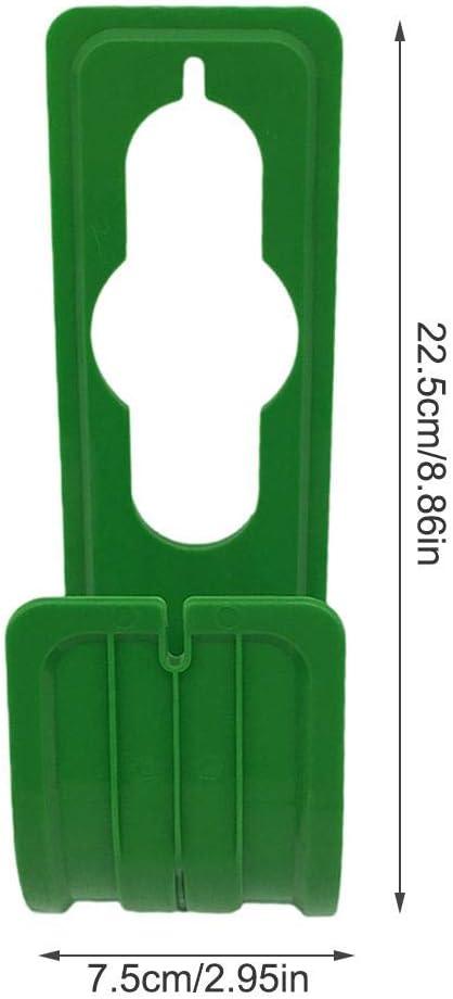 tragbarer Schlauchhaken zur Aufbewahrung von Au/ßenschl/äuchen wandmontierter Schlauchhalter Envisioni Gartenschlauchhaken