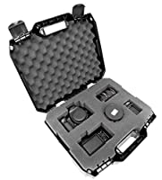 TOUGH-XL Hard-Body Travel and Storage Case Camera , Gear , Equipment and Lenses - Protects Nikon Digital SLR dSLR D3300 / D3200 / D750 / D7100 / D810 / D3100 / D5500 / D7200 / D7000 and more