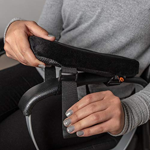 Flinct Armrest Pads for Office Chair – Arm Rest Cushion Cover – Computer Chair Arm Pads ()