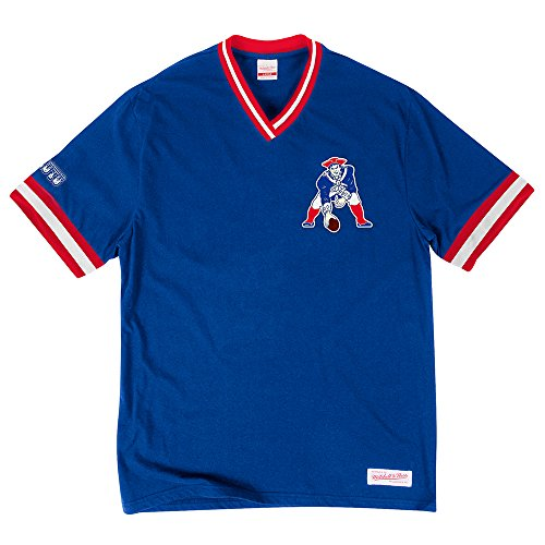 """Mitchell & Ness Mens """"Overtime"""" Vintage New England Patriots"""