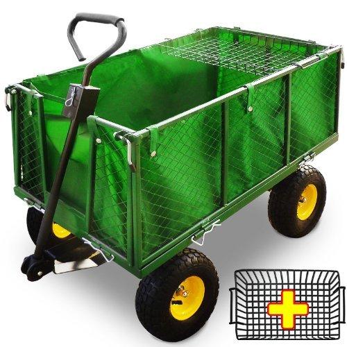 Transportwagen 550 kg - Gartenkarre Bollerwagen Gartenwagen Handwagen Transportkarre Gerätewagen