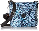 Kipling Women's Sebastian Crossbody Bag, Adjustable Crossbody Strap, Top Zip Closure, roaming roses