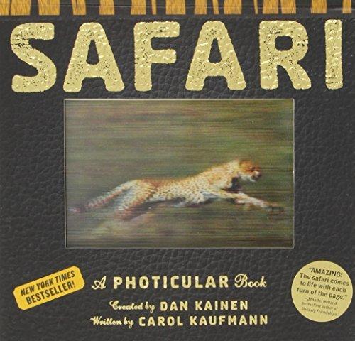 By Dan KainenSafari: A Photicular Book[Hardcover] October 16, 2012