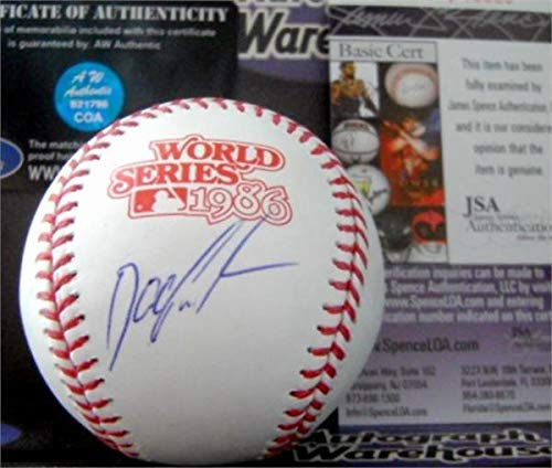 Dwight Gooden Signed Baseball - 1986 World Series JSA - Autographed Baseballs ()