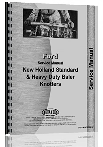 New Holland All Knotters Service Manual