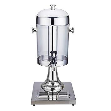 Máquina de bebidas de acero inoxidable - Dispensador de agua portátil de tres galones y 6