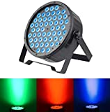 SevenStars DJ Stage Lights 54x1.5W RGB 3 in 1 LED Par Lights DMX 512 Music-Controlled / Master-Slave for KTV Club Wedding Family Party Disco Celebration Bar Events service Theater Concert