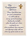 """Abbey Press 3.75"""" x 5.5"""" Confirmation Sponsor Pin and Card"""