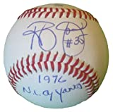 San Diego Padres Randy Jones Autographed Hand Signed Baseball with Cy Young Inscription and Proof Photo, New York Mets, COA