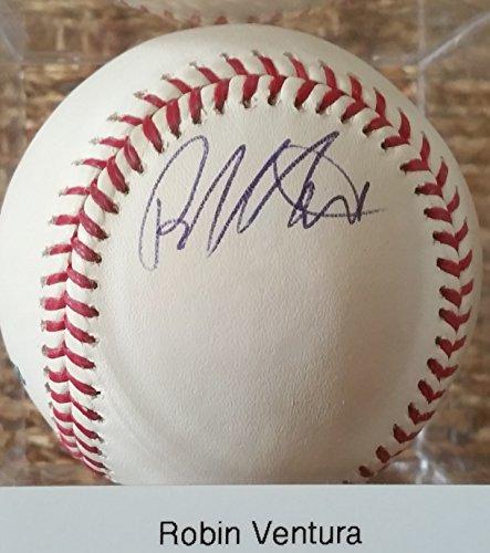Robin Ventura Signed Autographed Official Major League (OML) Baseball - COA Matching - Mall Ventura