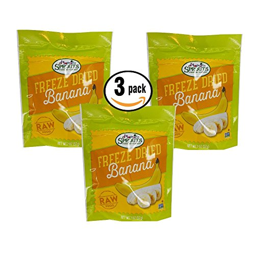 Sprouts Farmers Market Freeze Dried Bananas 3 pack