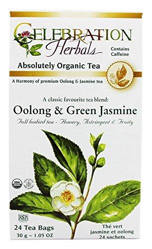 (Green Tea Oolong & Jasmine Org-24)