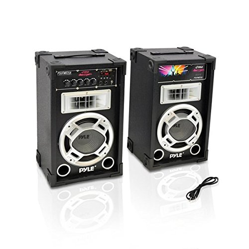 Pyle PSUFM835A Speaker Systems Readers