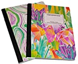 Swirl and Glitter Composition Book Sets (2 pk) (green swirl)