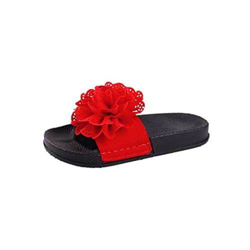 OHQ Sandalias Romanas De Playa para Mujer Sandalias Zapatillas Verano Zapatillas Moda Zapatillas De Playa Zapatos Planos Zapatillas CóModo Y Elegante: ...