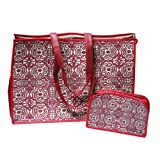 Tahitian Quilt Foldable Insulated Tote with Organizer Set, Baby & Kids Zone