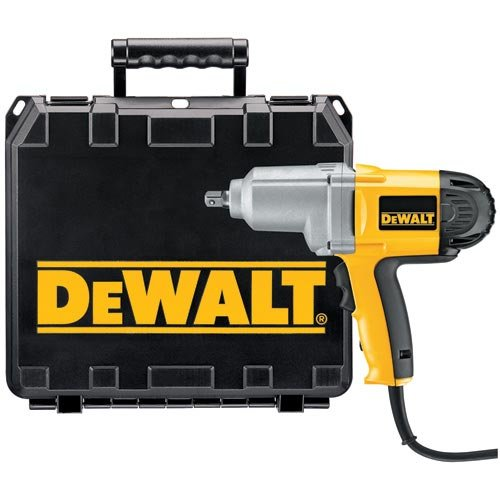 Factory-Reconditioned DEWALT DW292KR Heavy-Duty 1/2-Inch 13mm Impact Wrench Kit w/Detent Pin Anvil
