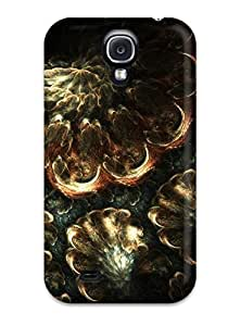 Hot Tpu Cover Case For Galaxy/ S4 Case Cover Skin - Classical Abstract