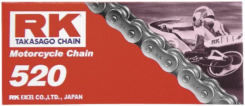 Rkm Standard (RK 520 M Standard Chain - 114 Links , Chain Type: 520, Chain Length: 114, Chain Application: All 520X114 RK-M)