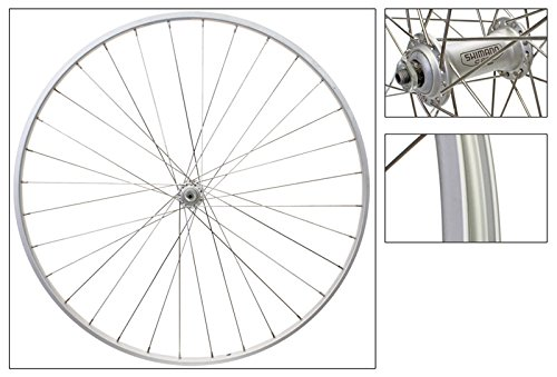 Wheel Master 700c Road Front Wheel - 700 x 25, Weinmann AS23X Rim, Alloy Hub, 36H, QR, Silver