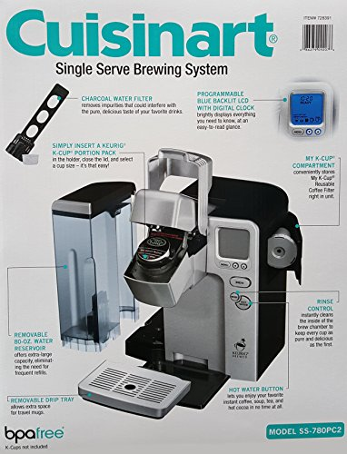 Find a Cuisinart® Single Serve Brewing System