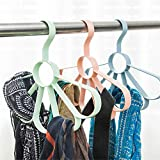 Zhao Xiemao Scarf Frame Silk Towel Rack Multi-Function Hangers Tie Belt Shelf Belt Loop Storage Rack, 3 Pcs.