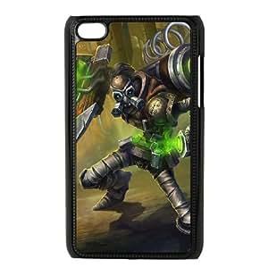 iPod Touch 4 Case Black League of Legends Hextech Singed SH3041582