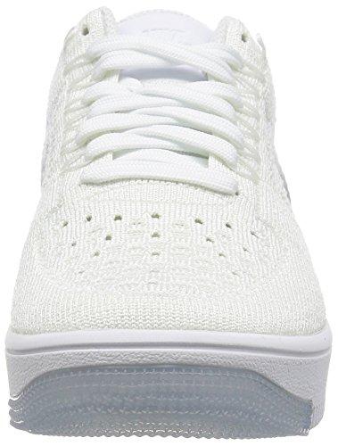 Nike W Af1 Flyknit Low, Zapatillas de Deporte Para Mujer Blanco (White / White)