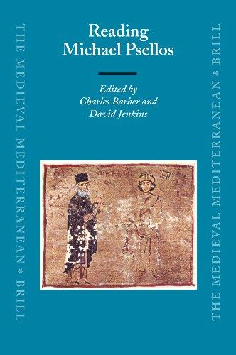 Reading Michael Psellos (The Medieval Mediterranean)