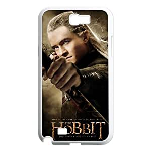 Samsung Galaxy N2 7100 Cell Phone Case White The Hobbit EMD Hard Phone Case Clear