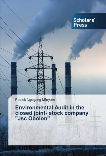 """Environmental Audit in the closed joint- stock company """"Jsc Obolon"""""""