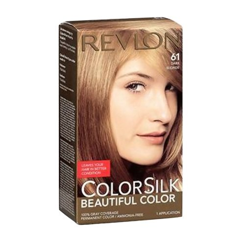 Revlon Colorsilk Beautiful Haircolor Ammonia-free Permanent Haircolor (#61 Dark Blonde), 1 Count (Pack of 12) by Revlon