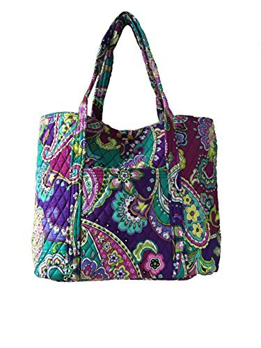 Quilted Zippered Fashion Tote - 8