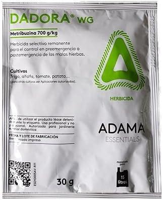 Herbicida selectivo DADORA WG para patata, trigo, alfalfa, cebada, tomate y otros: Amazon.es: Jardín