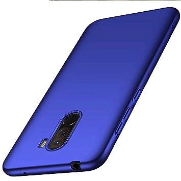 Funda Xiaomi Pocophone F1 Caja Caso MUTOUREN PC Carcasa Anti-Scratch Anti-rasguños Bumper Protectora de teléfono Case Cover para Xiaomi Pocophone F1 ...